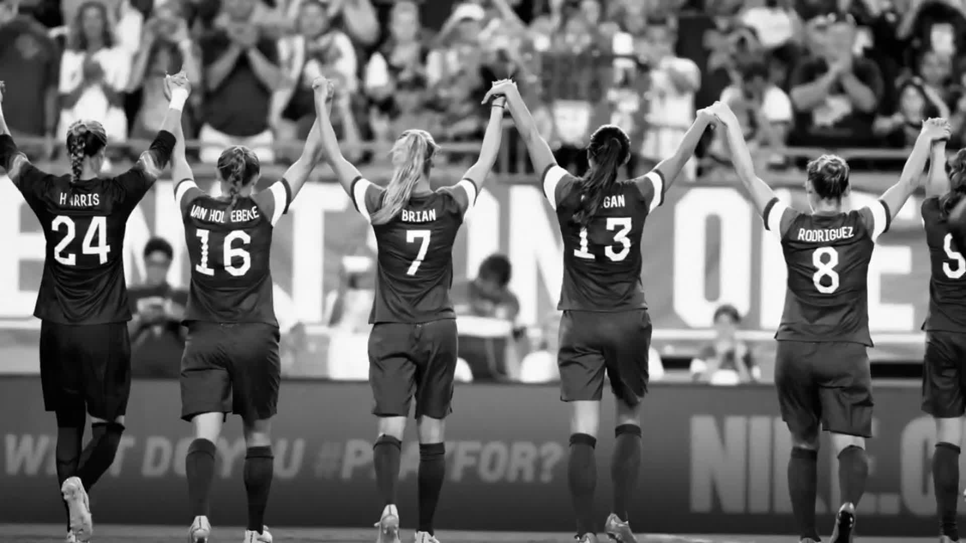 pastor Fielmente Molester  Watch the Nike ad starring the US women's soccer team - CNN Video