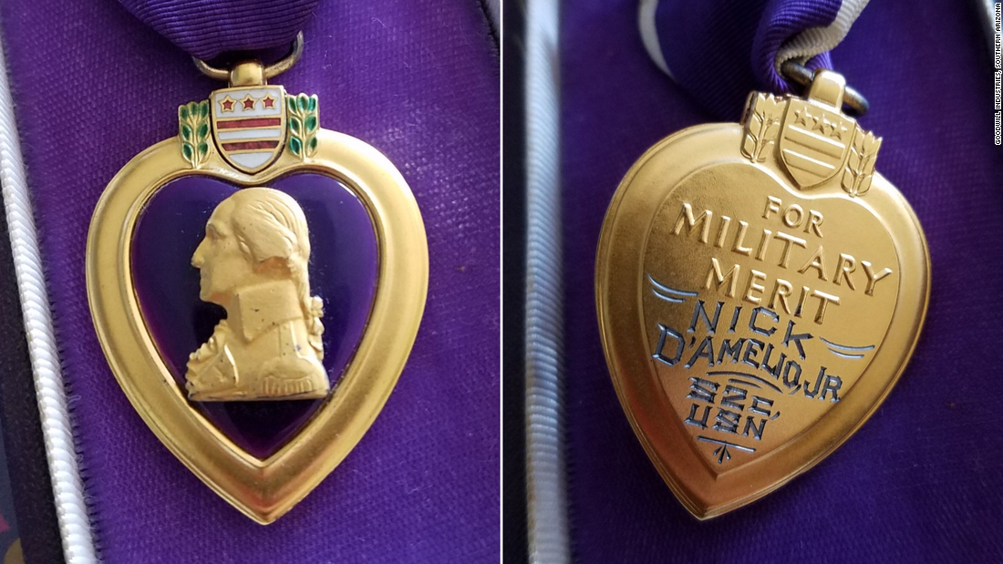 Goodwill tracks down family to return donated Purple Heart