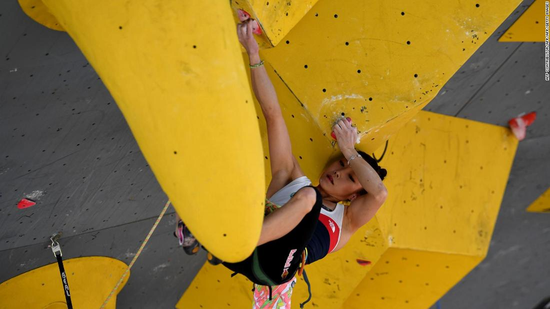 The Olympic climbing program at Tokyo 2020 will combine three disciplines: bouldering, lead climbing and speed climbing. The latter event is new to Kim, forcing her into a new training regime.