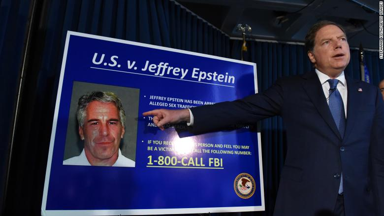 US Attorney for the Southern District of New York Geoffrey Berman announced charges against Jeffery Epstein on July 8, 2019.