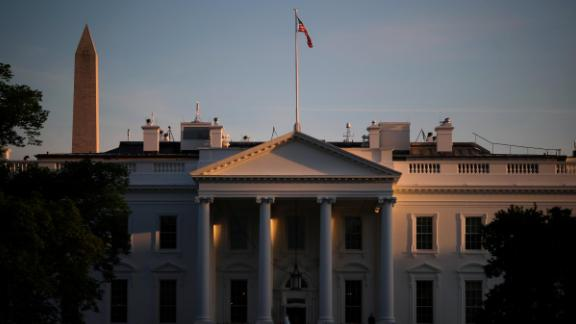 WASHINGTON, DC - APRIL 17: A view of the White House on Wednesday evening, April 17, 2019 in Washington, DC. The results of the investigation by special counsel Robert Mueller will be made public on Thursday in a nearly 400-page report. (Photo by Drew Angerer/Getty Images)