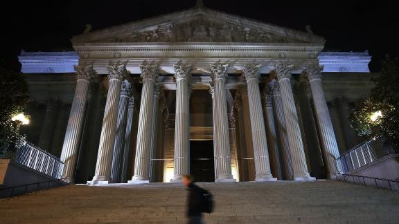 The National Archives in Washington is home to irreplaceable historic documents.