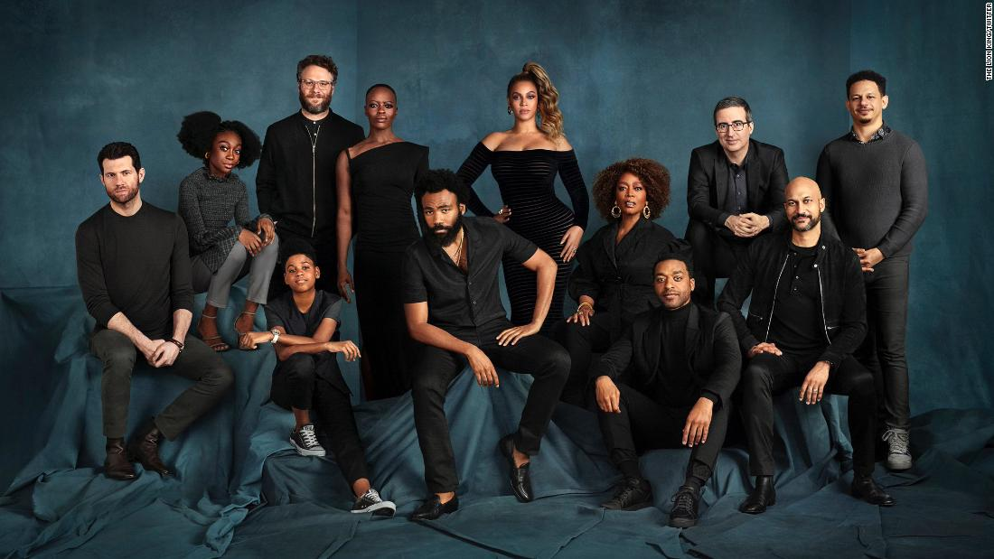 Be Prepared For The Lion King Cast Photo Cnn
