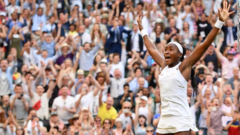 Meet Coco Gauff, the 15-year-old who rocked Wimbledon