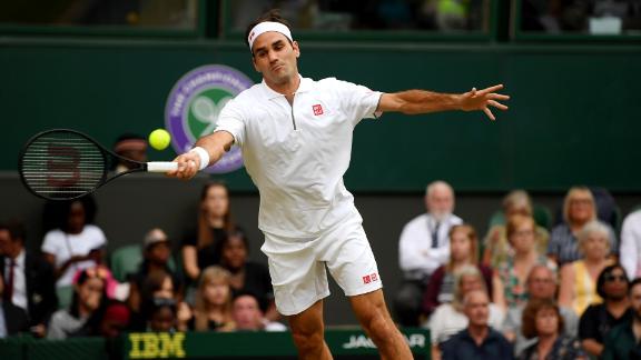 Roger Federer dominated Matteo Berrettini in a true masterclass.