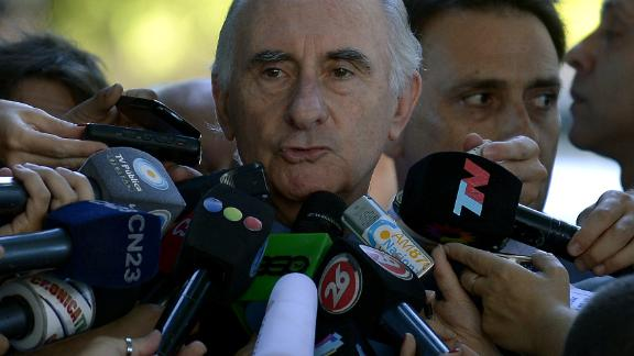 Former Argentine President Fernando De La Rua has died at the age of 81.