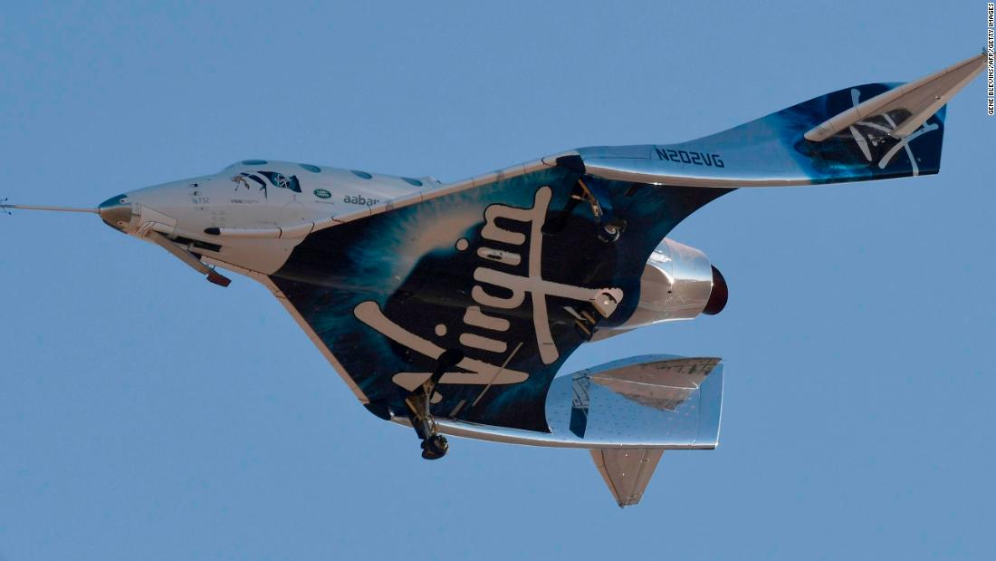 Photo of Virgin Galactic stock tanks as chairman cashes out $200 million personal stake | CNN