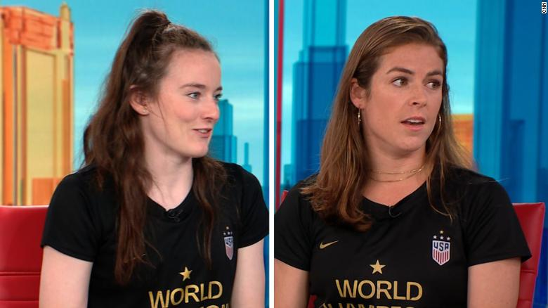 World Cup champions reflect on win amid equal pay fight