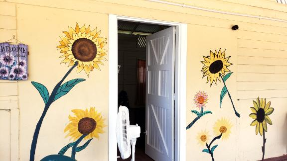 The Sunflower House shelter in Guyana is set to open by the end of July.