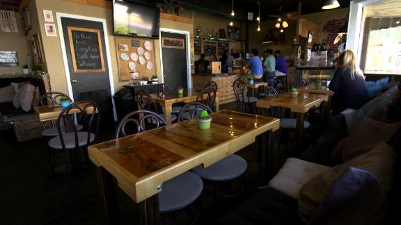 Palate Coffee Brewery is a popular hangout for locals and tourists passing through Sanford, Florida.