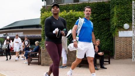 "Patrick Mouratoglou (right) has called on tennis' governing bodies to find a ""sustainable solution"" for lower-ranked players."