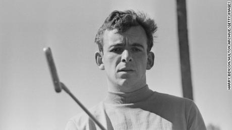 British golfer Tony Jacklin on 14th April 1968.