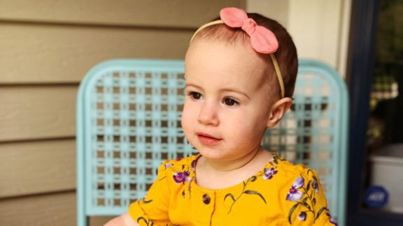 A funeral was held Monday for 18-month-old Chloe Wiegand, who died after falling from a window on a Royal Caribbean cruise ship.