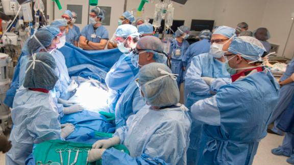 Cleveland Clinic First Uterus Transplant Recipient Delivery  Caesarean (C-section) in Operating Room # 28 on 06-18-19 taken for Tora Vinci    ***STAFF PERSON RELEASE STATUS****