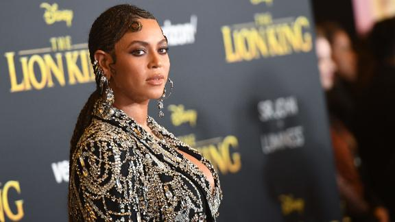 Beyonce arrives for the world premiere of Disney