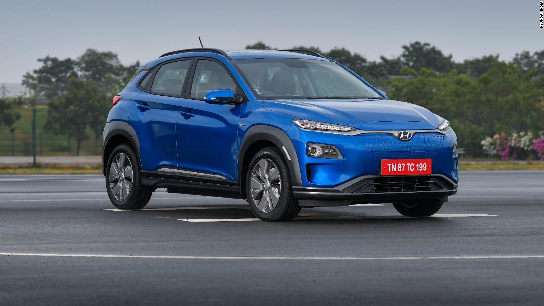 Hyundai Kona: India's latest electric car is a powerful SUV - CNN