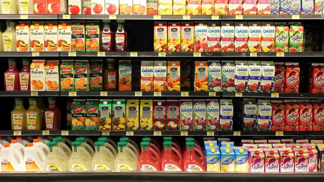 Study Links A Small Glass Of Juice Or Soda A Day To Increased Risk Of Cancer Cnn