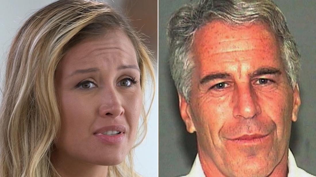 Jennifer Araoz says she was raped by Jeffrey Epstein when she was 15 years old.