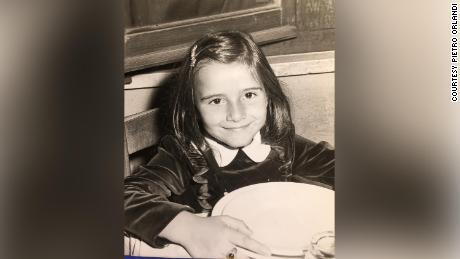 Emanuela Orlandi, pictured as a child.