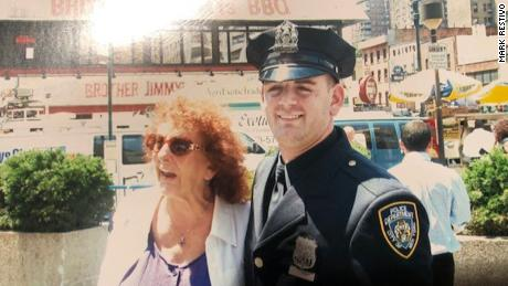 A former police officer's drug addiction almost killed him