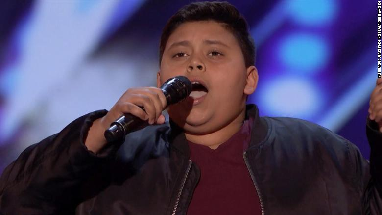 12-year-old Broadway fan shines on 'Ameica's Got Talent'
