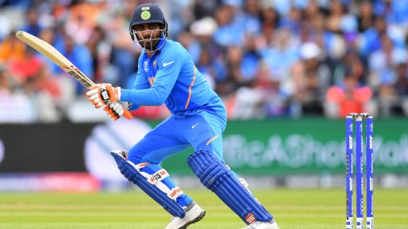 Ravindra Jadeja hit 77 off 59 deliveries to give India a fighting chance.