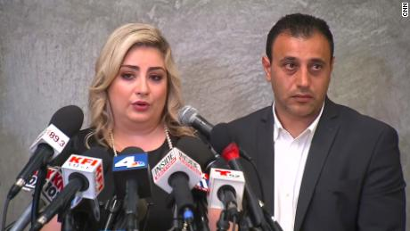 Anni and Ashot Manukyan say that a queen's wife gave birth to their genetic baby due to an error in a fertility clinic.