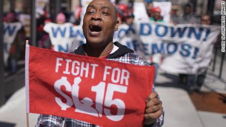 A $15 minimum wage started as a slogan. Now it's passed the House