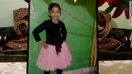 Gurupreet Kaur, 6, died after crossing the US-Mexico border last month.