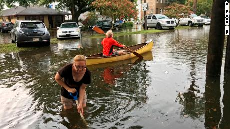 Louisiana residents evacuate as Tropical Storm Barry develops in the Gulf, threatening more epic flooding