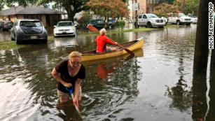 The Gulf storm spinning toward Louisiana is gaining strength, threatening more epic flooding
