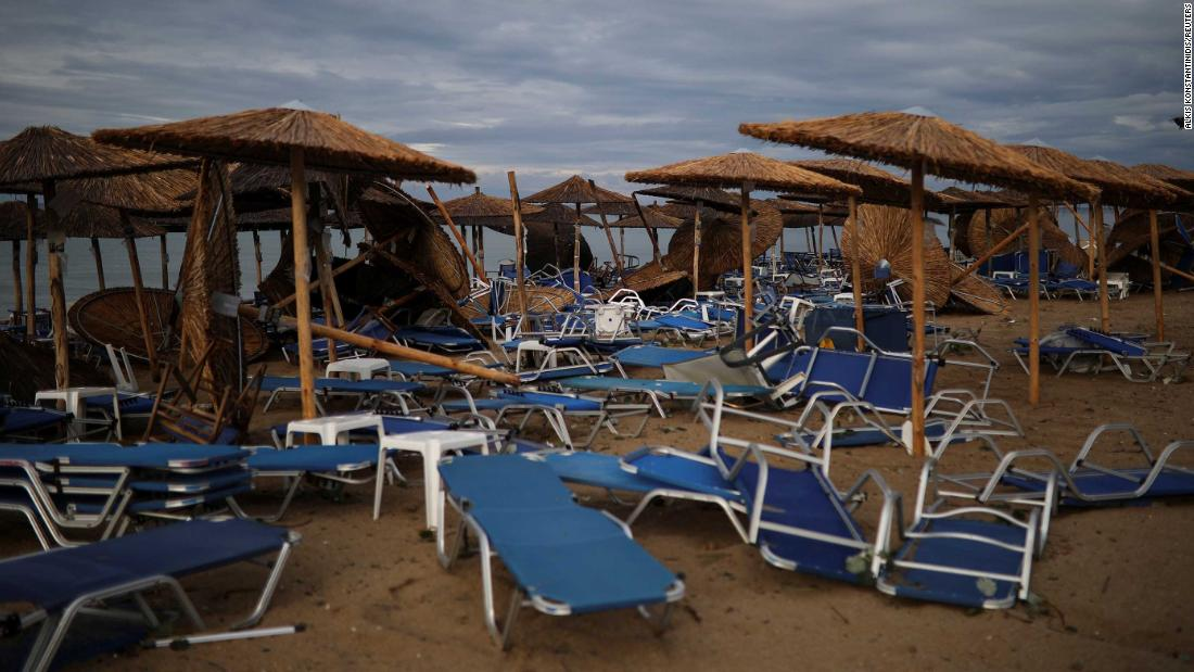Six dead and dozens injured in Greek storm