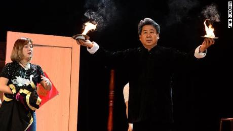 Traditional Chinese magic tricks have been passed down from generation to generation through close student-teacher relationships. Tian, and other older magicians, feel that revealing those tricks online damages the unique tradition.