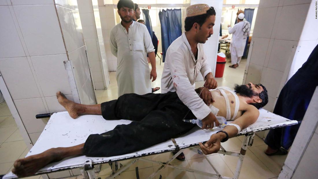 Afghanistan: Child suicide bomber kills five, injures 40 in wedding attack