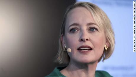 Julie Sweet will become Accenture's CEO in September.