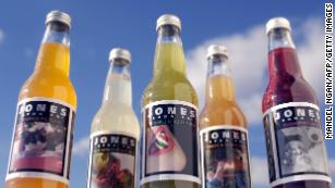 The Jones Soda Company is known for unusual flavors such as pumpkin pie, wild herb stuffing, brussels sprout, cranberry, and turkey and gravy.