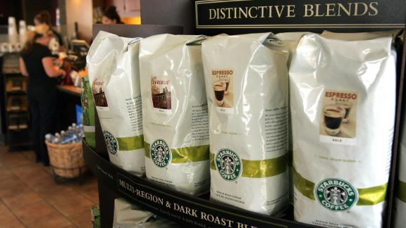 Bags of whole bean coffee will no longer be for sale at Starbucks.