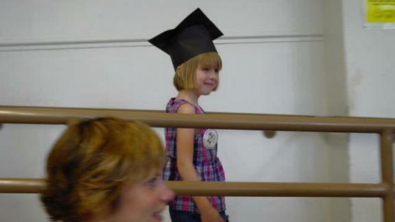 Abby's kindergarten graduation.