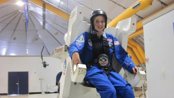 Abby attended space camp in 2011.