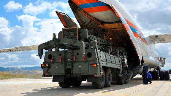 The US has warned Turkey it may face economic sanctions for purchasing the S-400 defense sytems.