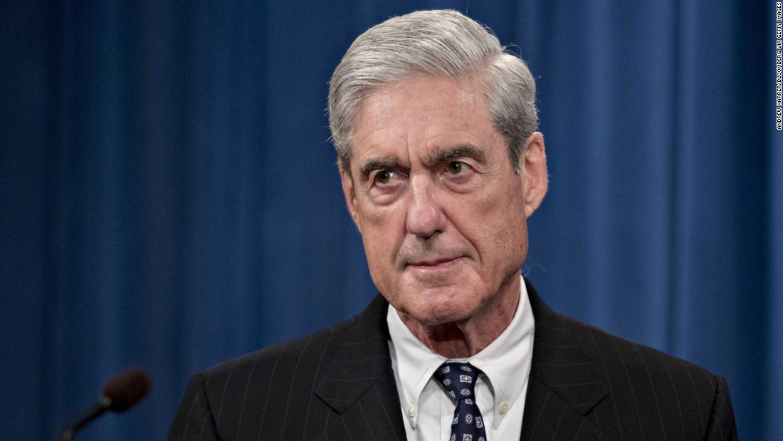 DOJ has not seen Robert Mueller's opening statement for Wednesday's hearing