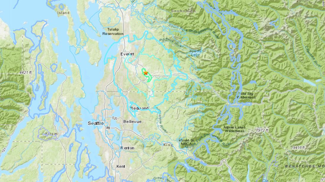 Seattle earthquake: Magnitude-4 6 earthquake rocks Pacific