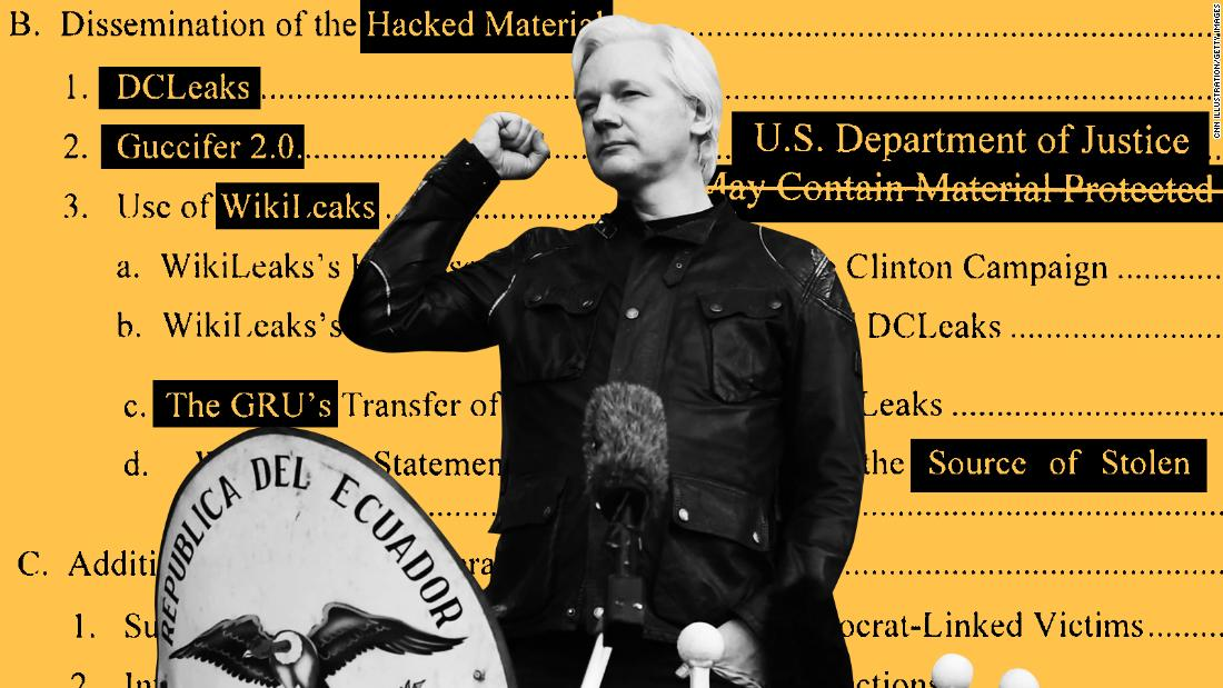 Security reports reveal how Assange turned an embassy into a command post for election meddling
