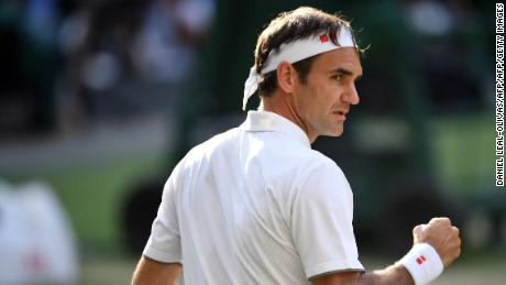 Roger Federer beat Rafael Nadal to reach his 12th Wimbledon final.