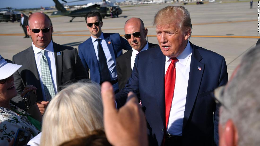 Video of Trump kissing a campaign aide leaves both sides claiming vindication