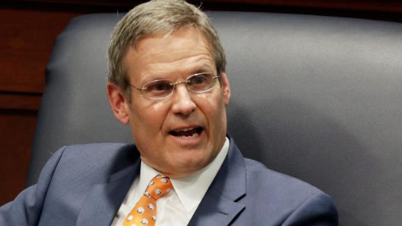 Tennessee Gov. Bill Lee (AP Photo/Mark Humphrey, File)