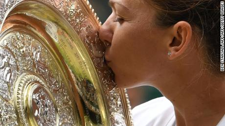 Simona Halep on winning her first Wimbledon title