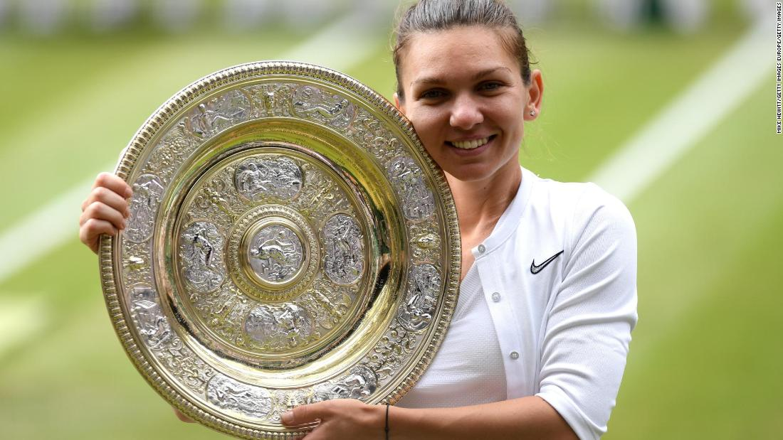 Flawless Simona Halep beats Serena Williams to win first Wimbledon