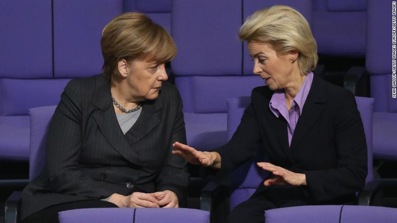 Von der Leyen has long been an ally of German Chancellor Angela Merkel and her longest-serving minister.