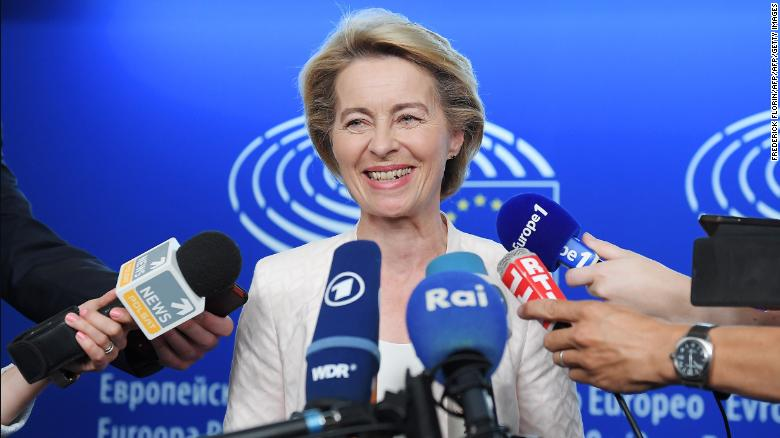 "Von der Leyen told MEPs last Wednesday that it was vital to improve the ""competitiveness"" of the EU's economy."